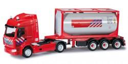 Renault Premium Tankcontainer-Sattelzug Brandweer (NL)