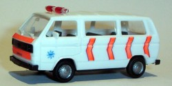 VW Bus Polizei Niederlande