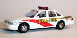 Ford Crown Victoria Westchester Police