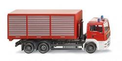 MAN TG-A M Abrollcontainer Feuerwehr