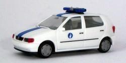 VW Polo Polizei Belgien