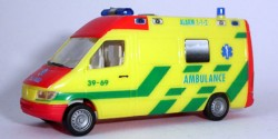 Mercedes Benz Sprinter Ambulance Grave