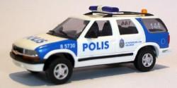 Chevrolet Blazer Polizei Schweden