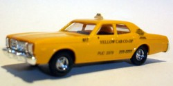 Dodge Monaco Taxi Yellow Cab Co-Op