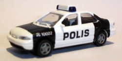 Ford Mondeo Polizei Finnland