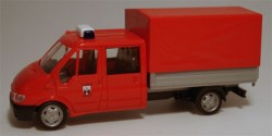 Ford Transit Pritsche/Plane Feuerwehr Magdeburg