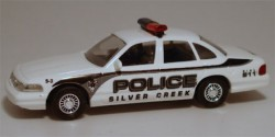 Ford Crown Victoria Silver Creek Police