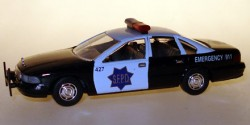 Chevrolet Caprice -  San Francisco Police Departement
