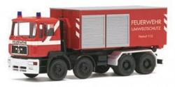 MAN F2000 Feuerwehr Abrollcontainer Umweltschutz