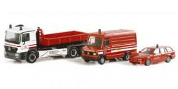 Mercedes Benz Atego Container Werksfeuerwehr infraserv Höchst