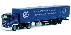 Volvo FH Planensattelzug 'Flutkatastrophe'