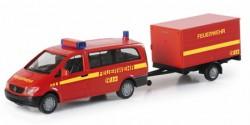 Mercedes Benz Vito + Anhänger Feuerwehr