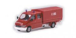 Mercedes Benz Sprinter Pritsche/Plane Feuerwehr