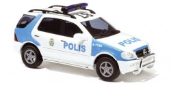 Mercedes Benz M-Klasse Polizei Schweden