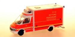 Mercedes Benz Sprinter RTW Feuerwehr Hamburg Süderelbe