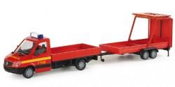 Mercedes Benz Sprinter Feuerwehr + Verkehrsabsicherung