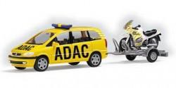Opel Zafira ADAC mit Anhänger / Motorrad