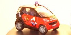 Smart Fortwo Feuerwehr Flensburg