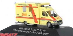 Mercedes Benz Sprinter RTW ASB Ulm
