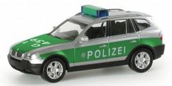 BMW X3 Polizei Karlsruhe