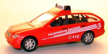 Mercedes benz c klasse elw feuerwehr bremen busch for Mercedes benz elw
