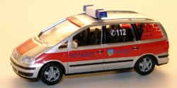 VW Sharan NEF Feuerwehr Bautzen