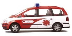 VW Sharan Wartungsdienst Luftrettung