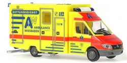 Mercedes Benz Sprinter RTW Ambulance Wiesbaden