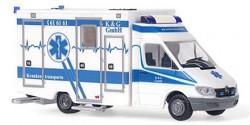 Mercedes Benz Sprinter RTW K&G Krankentransporte Dortmund