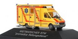 Mercedes Benz Sprinter RTW promedica Westerholt