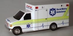 Ford E-350 Rural Metro Ambulance Miami