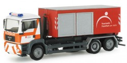 MAN TGA M Abrollcontainer Feuerwehr Frankfurt