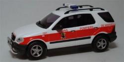 Mercedes Benz M-Klasse Pompiers de Marseille
