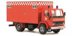 Ford Cargo Koffer-LKW Fire Brigade England