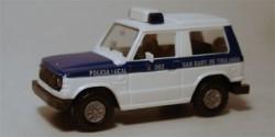 Mitsubishi Pajero Polizei Spanien