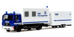 MAN LE 2000 Koffer-LKW mit Tandemhänger Führungsstelle THW Kempten