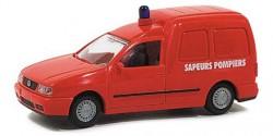 VW Caddy Feuerwehr Frankreich