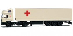 MAN F90 Sattelzug Rotes Kreuz