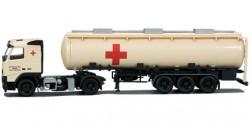 Volvo FH Tank-Sattelzug Rotes Kreuz