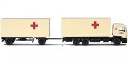 MAN Evo Kofferhängerzug Rotes Kreuz