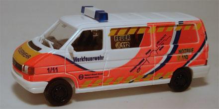 vw t4 elw werkfeuerwehr bosch reutlingen awm 56037 modellautos 1 87. Black Bedroom Furniture Sets. Home Design Ideas