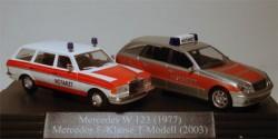 Mercedes Benz W123 und E-Klasse NEF