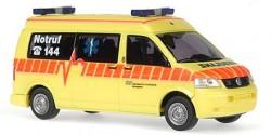 VW T5 KTW KSW Ambulanz Winterthur