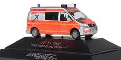 VW T5 ELW Feuerwehr Hamburg Airport