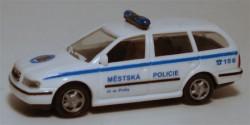 Skoda Octavia Polizei Tschechien