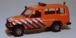 Toyota HZJ 78 Reddingsbrigade Callantsoog Niederlande