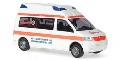 VW T5 Hornis Silver KRW Johanniter Braunschweig