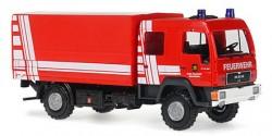 MAN LE 10.180 Doka P/P Gerätewagen Logistik Feuerwehr Schriesheim