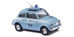 Fiat 500 Polizia Italien