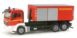 MAN TGS M Abrollcontainer-LKW Feuerwehr